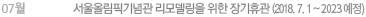 서울올림픽기념관 리모델링을 위한 장기 휴관(2018.7.1~2022.9월 예정)